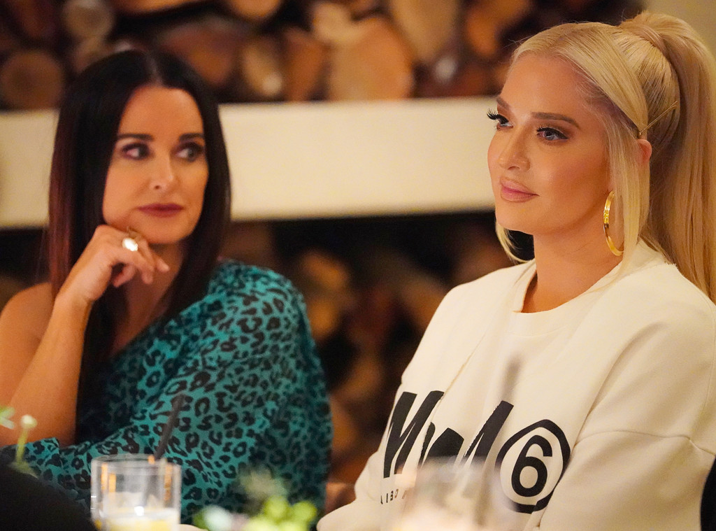 Is Erika Over the Conversation or Just Over The Real Housewives of Beverly Hills Ladies?