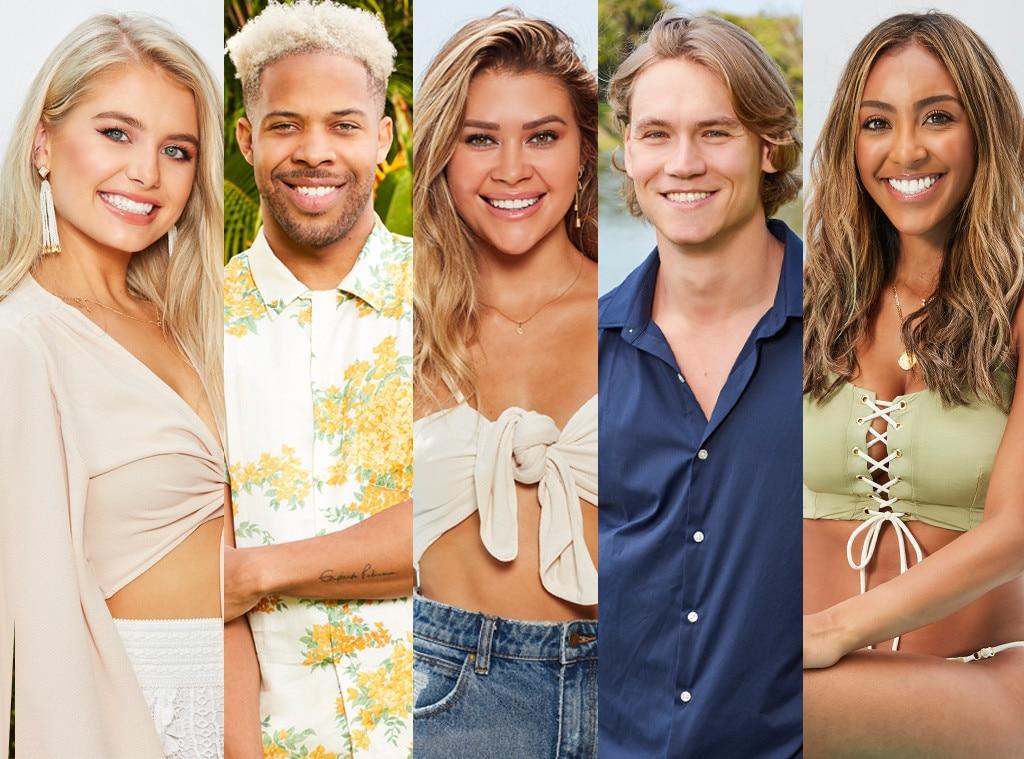 The behavior of the contestants of the twentieth season of the bachelor