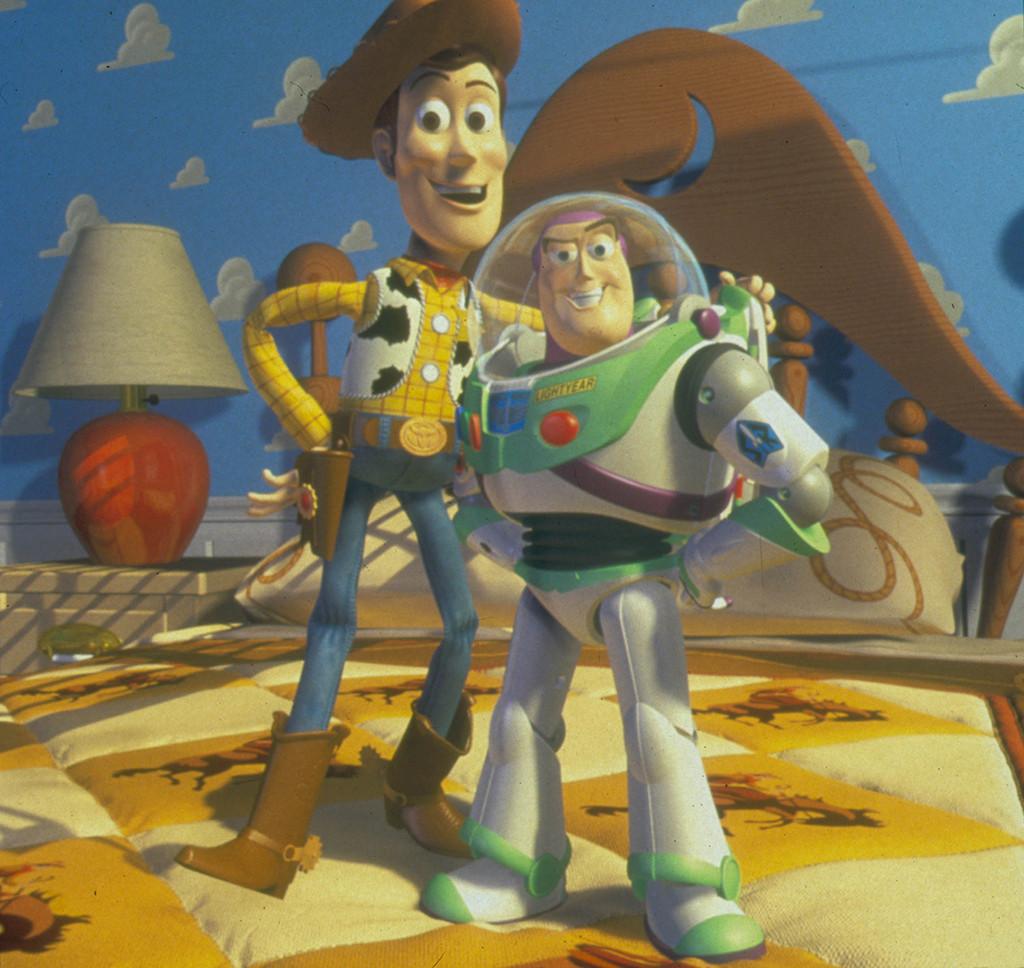 Woody, Buzz Lightyear