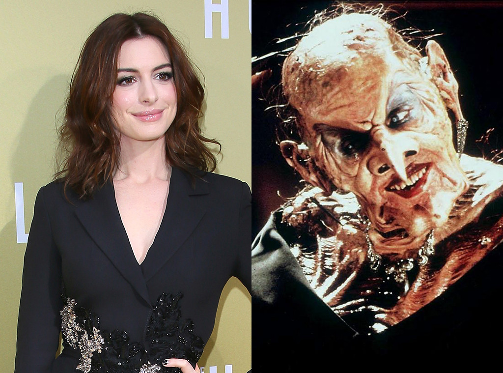 Anne Hathaway, The Witches, Angelica Huston