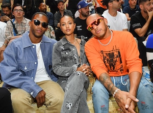 Victor Cruz, Karrueche Tran, Lewis Hamilton, Off-White Show, Paris Mens Fashion Week