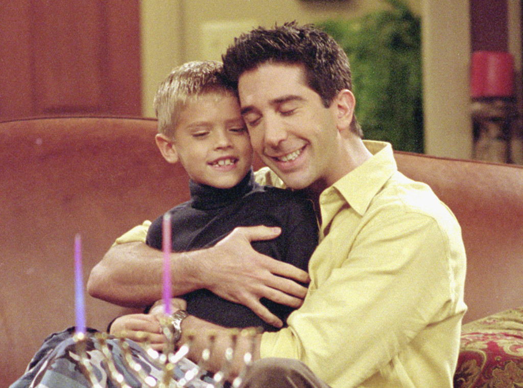 Cole Sprouse, David Schwimmer, Friends