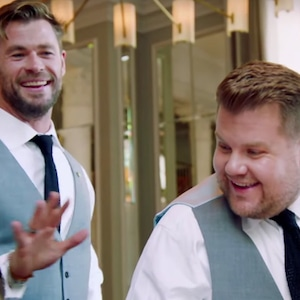 James Corden, Chris Hemsworth