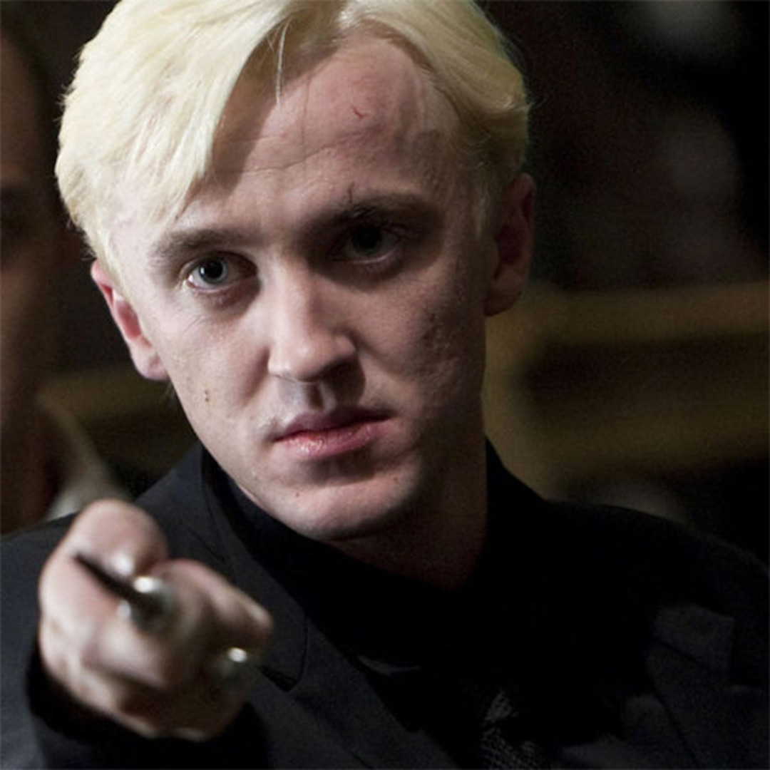 Tom Felton Shares Behind-the-Scenes Harry Potter Secrets While Watching Film for the First Time - E! NEWS