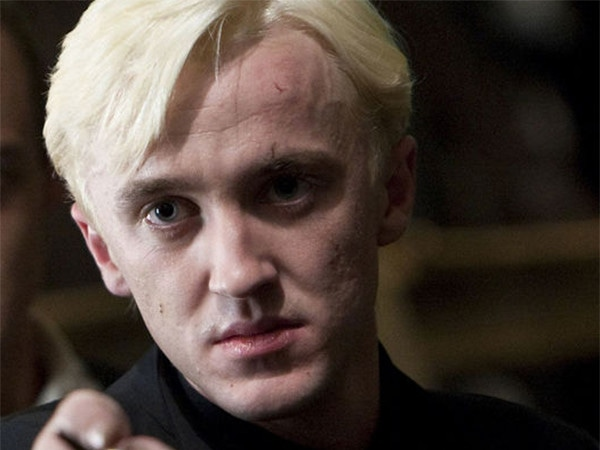 """Tom Felton Jokes Harry Potter Was """"Clearly"""" in Love With Draco Malfoy"""