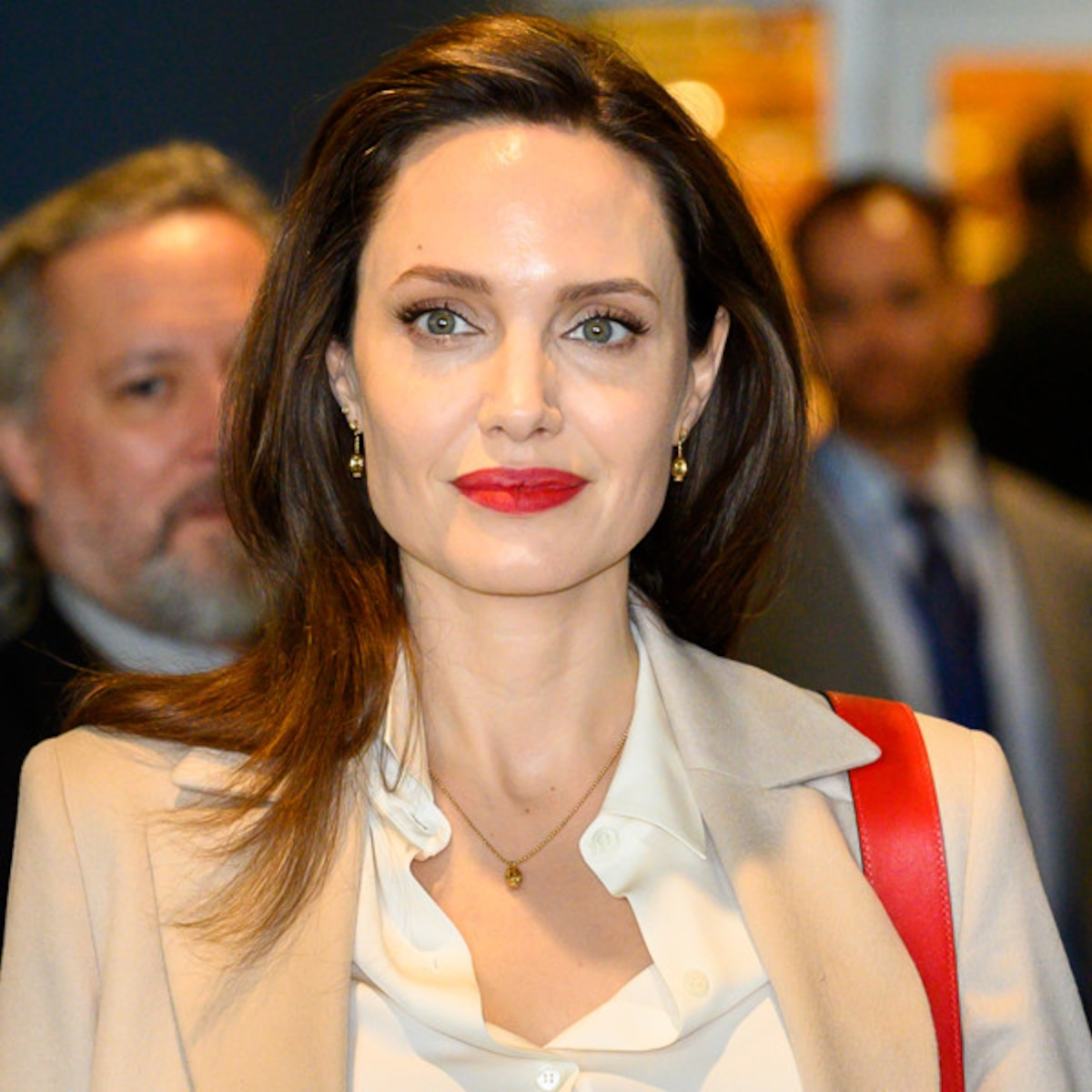 Angelina Jolie Video Hard angelina jolie makes surprise appearance at comic-con 2019