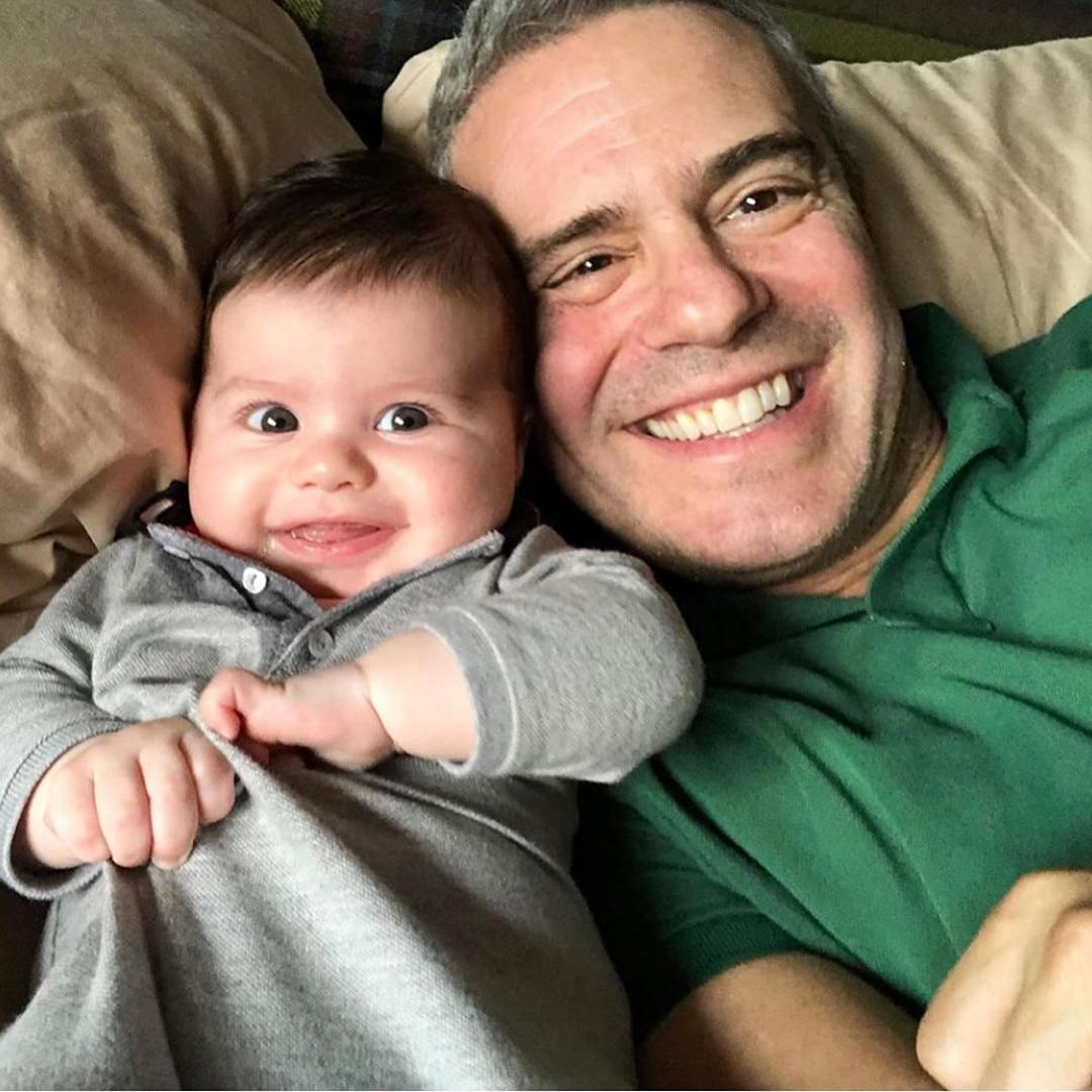 Andy Cohen, Baby, Son, Benjamin Allen Cohen
