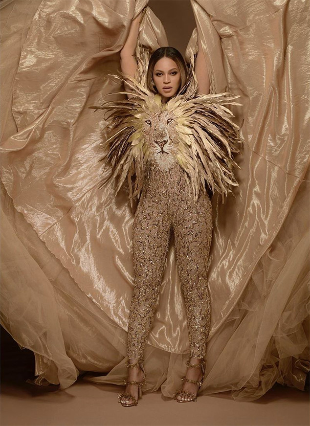 Beyoncé and Blue Ivy Go Full Lion King at Tina Knowles' Gala
