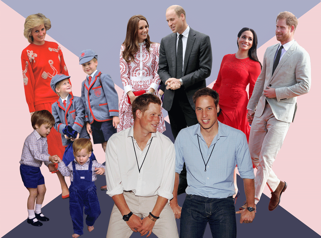Prince William, Birthday Feature, Prince Harry, Princess Diana, Kate Middleton, Meghan Markle