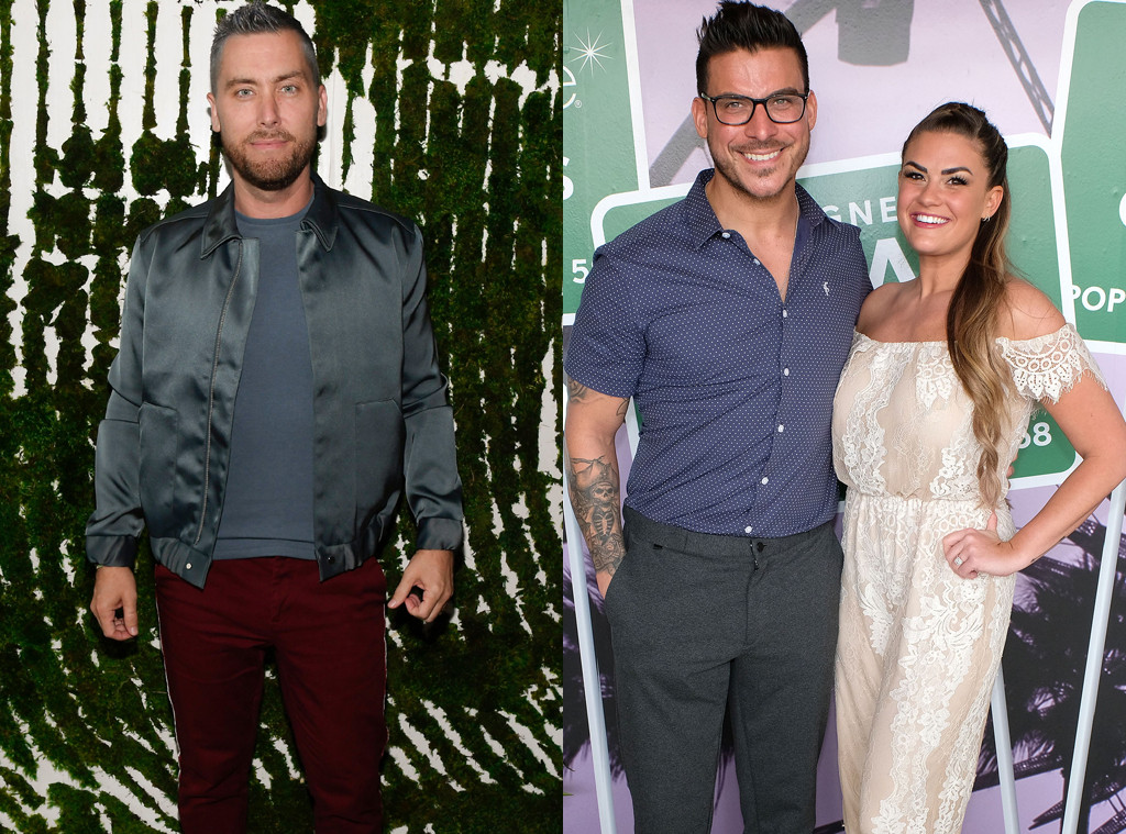 Lance Bass, Jax Taylor, Brittany Cartwright