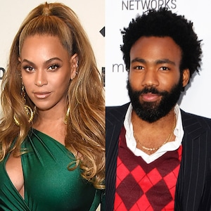 Beyonce and Donald Glover