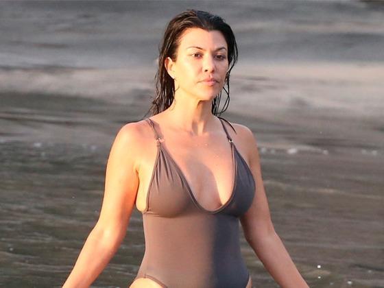 Inside Kim and Kourtney Kardashian's Tropical Family Vacation
