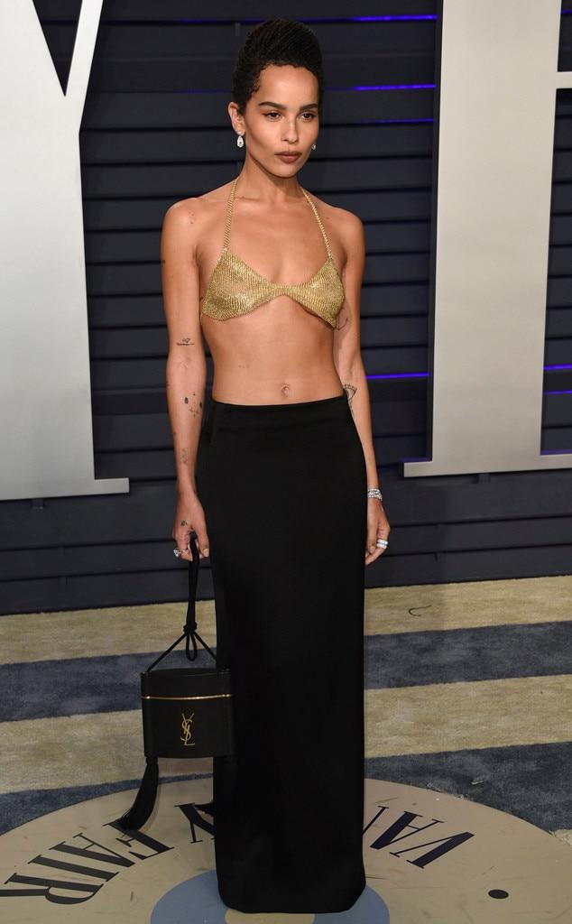 Zoe Kravitz, Vanity Fair Oscar Party 2019