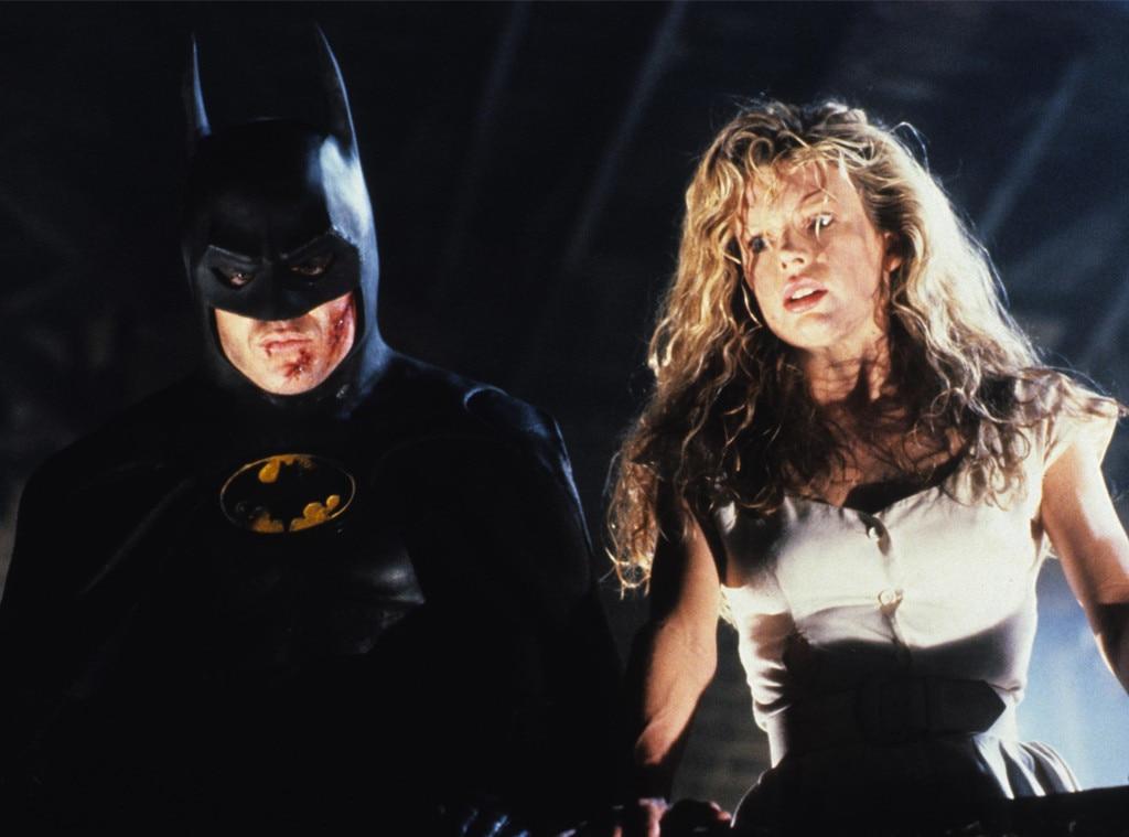 Michael Keaton, Kim Basinger, Batman, 1989
