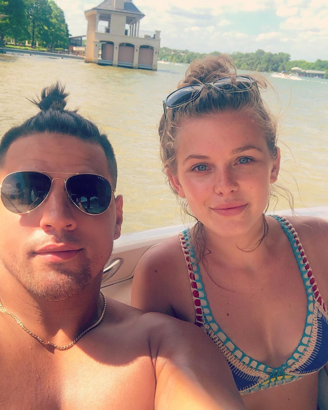 Inside Haleigh Broucher and Fessy Shafaat's Romance Outside the Big