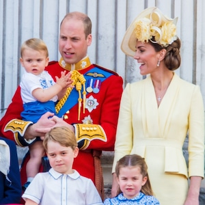 William, Kate Middleton, George, Charlotte, Louis