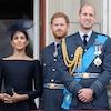 Prince William, Prince Harry, Meghan Markle