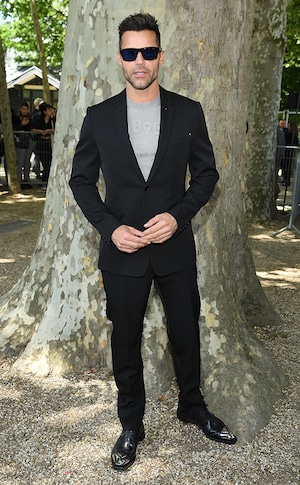 Ricky Martin, Men's Paris Fashion Week