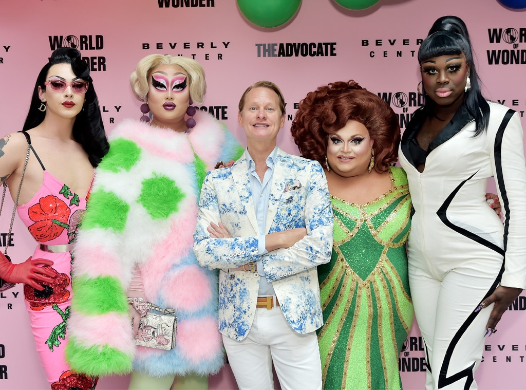 Violet Chachki, Kim Chi, Carson Kressley, Ginger Minj, Bob the Drag Queen