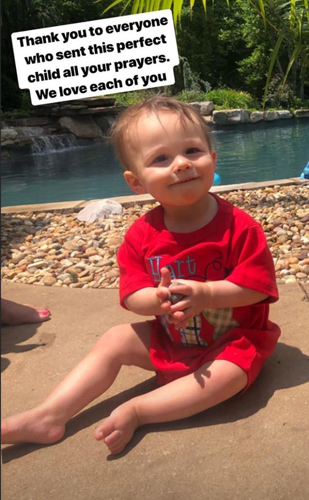 Meghan King Edmonds, Son, Hart, Hospital, MRI, Instagram