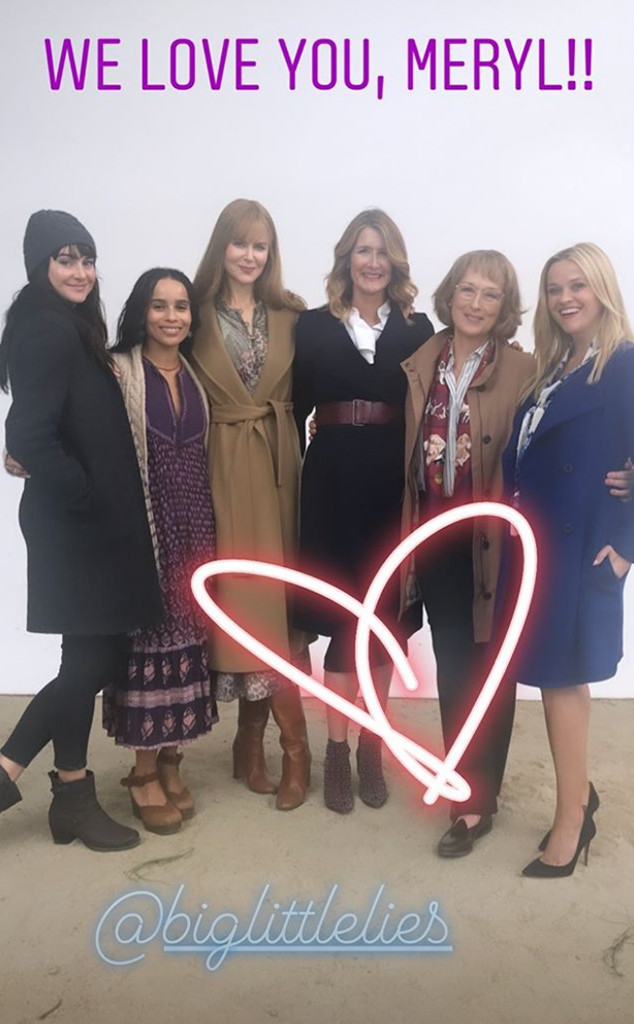 Meryl Streep, Birthday, Big Little Lies, Cast, Reese Witherspoon, Nicole Kidman