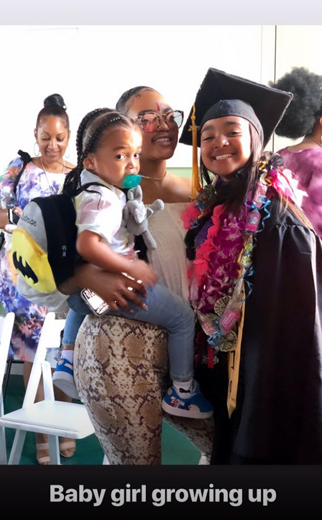 Nipsey Hussle, Daughter, Emani, Elementary School Graduation, Sister, Samantha Smith, Son, Kross