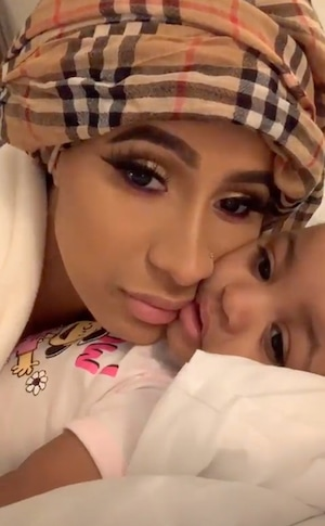 Cardi B, Daughter, Baby, Kulture, Instagram