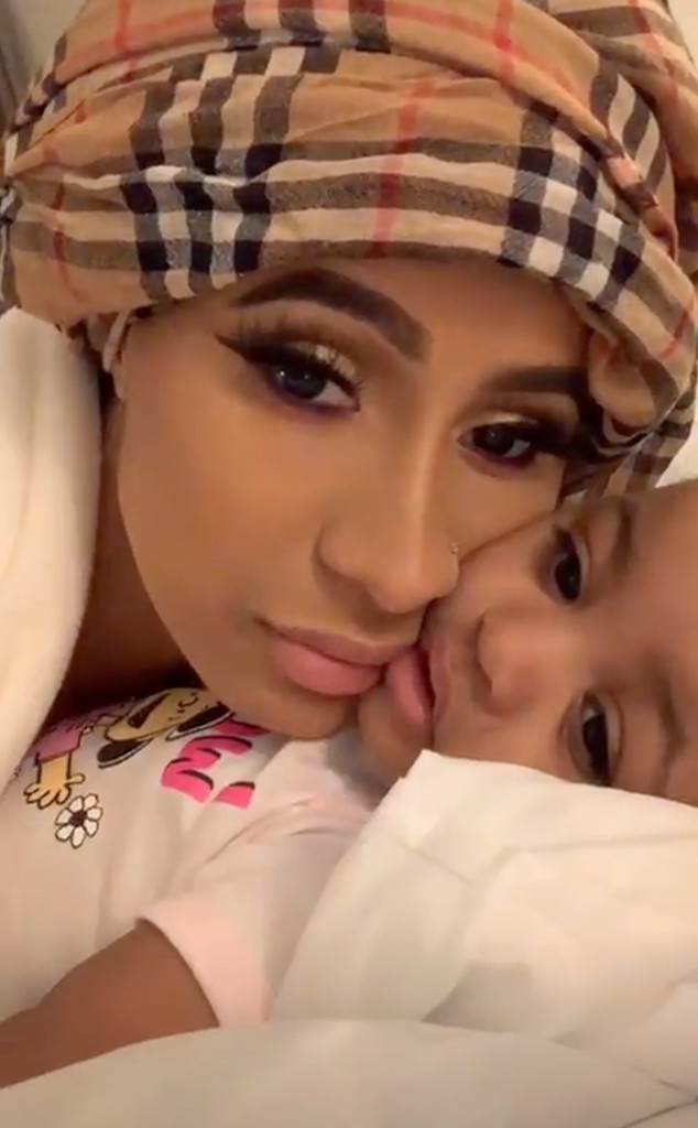 Watch Cardi B S Daughter Kulture Prove She S Just Like Her Mom E