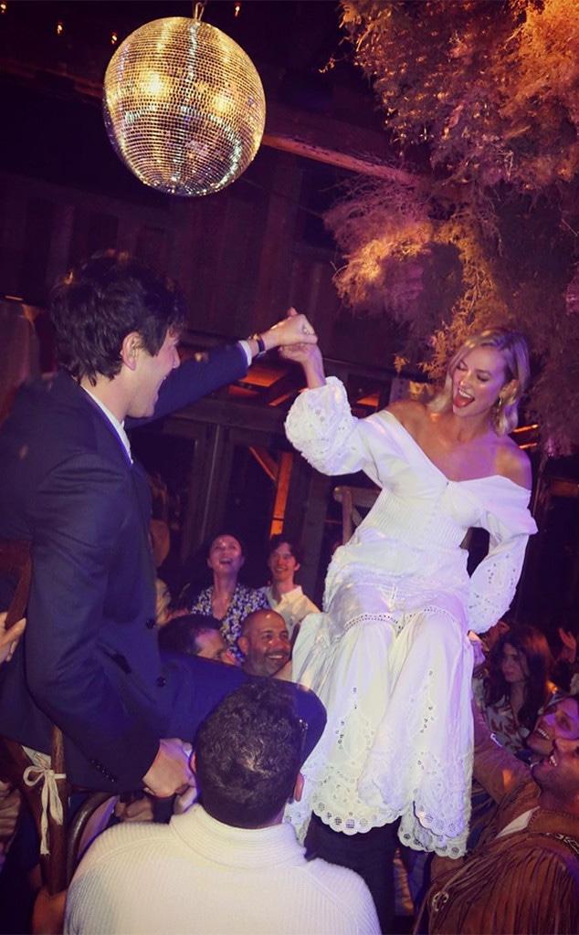 Karlie Kloss, Joshua Kusher, Second Weddingn