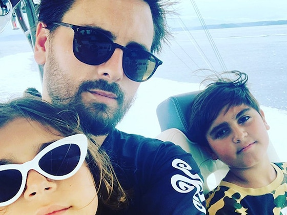 "Scott Disick Has Found His ""Real Love and Passion"" in His 3 Kids"
