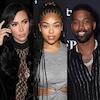 Kim Kardashian, Jordyn Woods, Tristan Thompson