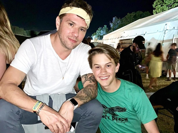 Ryan Phillippe and Look-Alike Son Deacon Have the Best Time Ever at Music Festival