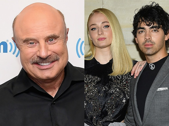 Whoops! Dr. Phil Just Revealed Joe Jonas and Sophie Turner's Wedding Date