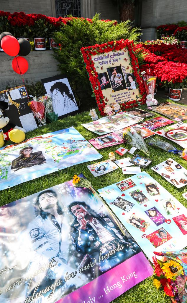 Michael Jackson, Death, Grave
