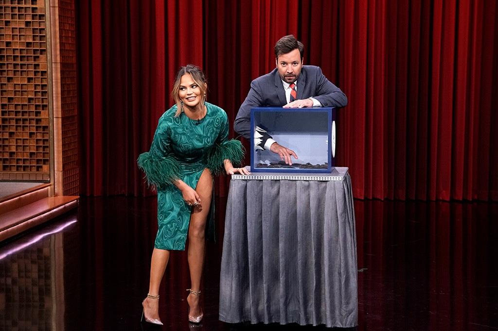 Jimmy Fallon, Chrissy Teigen, The Tonight Show