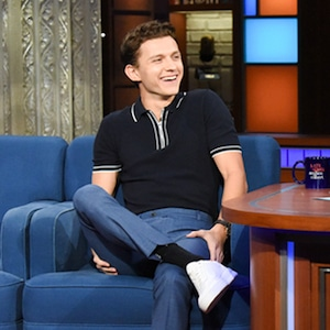 Tom Holland, Stephen Colbert