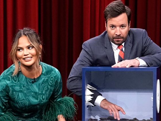 Chrissy Teigen and Jimmy Fallon's Guessing Game Will Totally Gross You Out