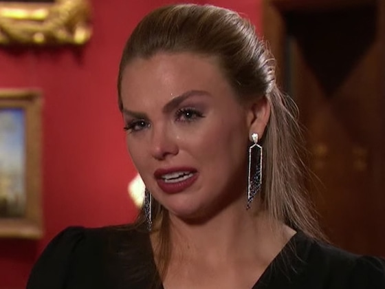 "Hannah Brown Cries ""I'm Scared"" After <I>The Bachelorette</i> Men Continue to Fight</I>"