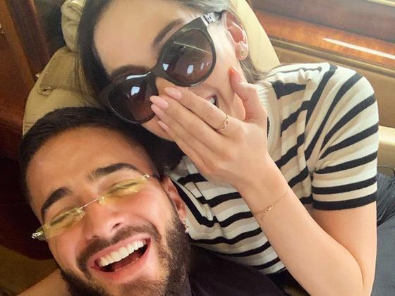 La romántica sorpresa que Maluma le preparó a su novia por su segundo aniversario