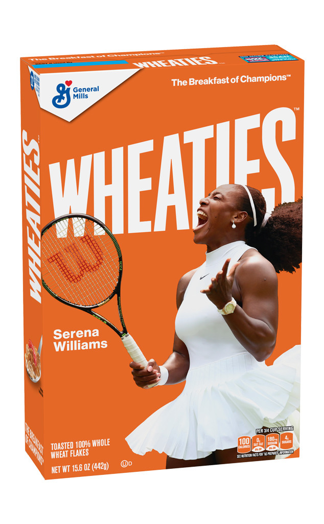 Serena Williams, Wheaties Box