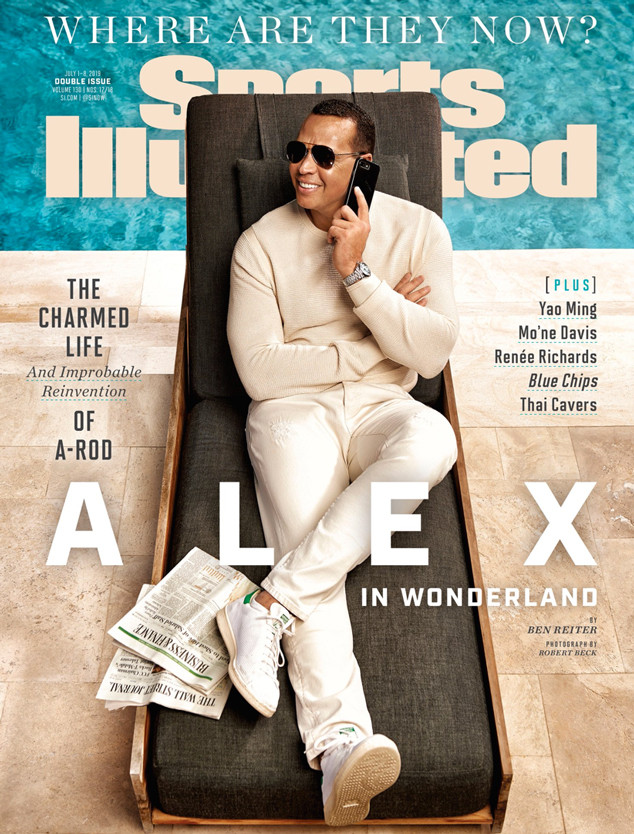 Alex Rodriguez, Sports Illustrated