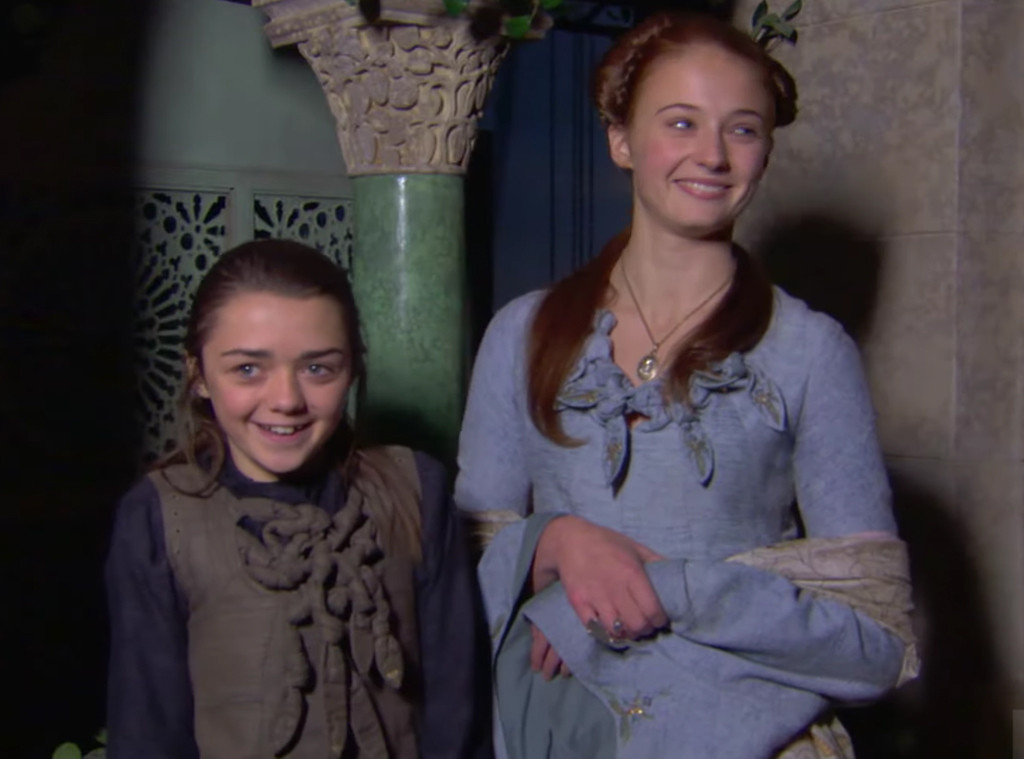 This Game of Thrones Reunion Special Sneak Peek Is Just the Cutest Thing