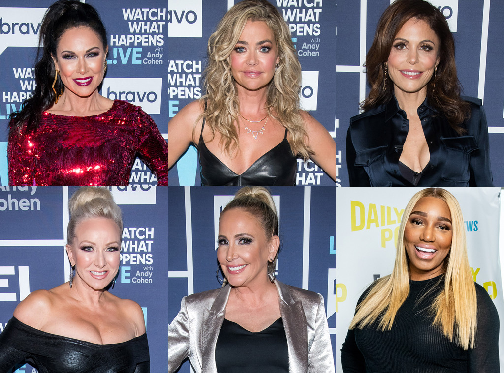 LeeAnne Locken,Denise Richards, Bethenny Frankel, Margaret Josephs, Shannon Beador, NeNe Leakes, Housewives All Stars