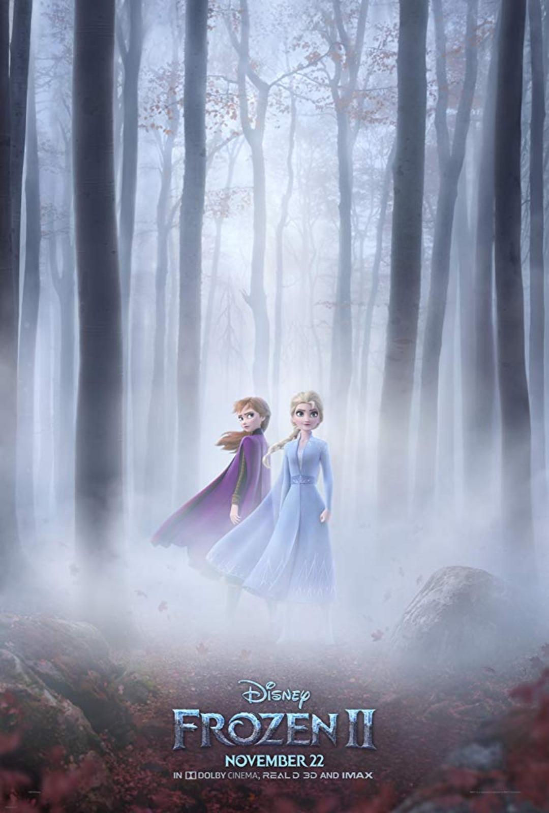 Frozen 2, movie poster