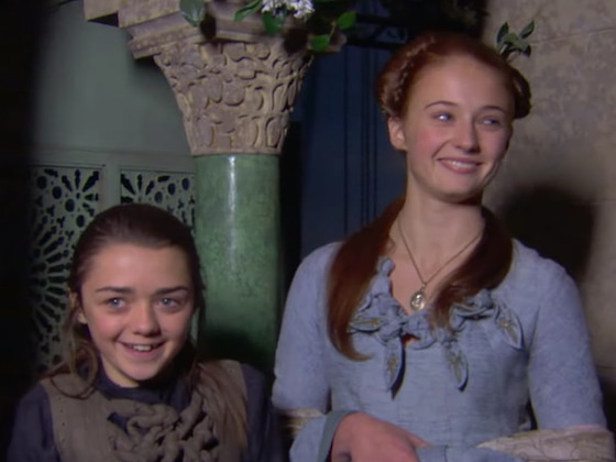 This <I>Game of Thrones</i> Reunion Special Sneak Peek Is Just the Cutest Thing</I>