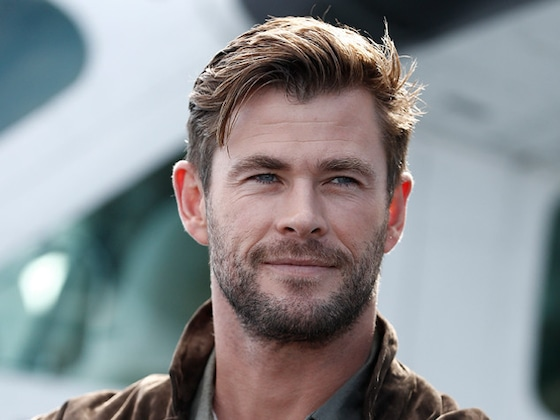 Chris Hemsworth's Shirtless Workout Video Will Make You Sweat