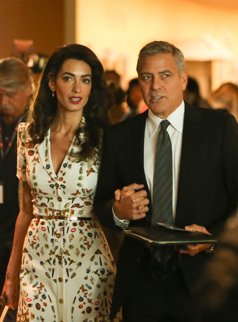 George Clooney, Amal Clooney, UN General Assembly