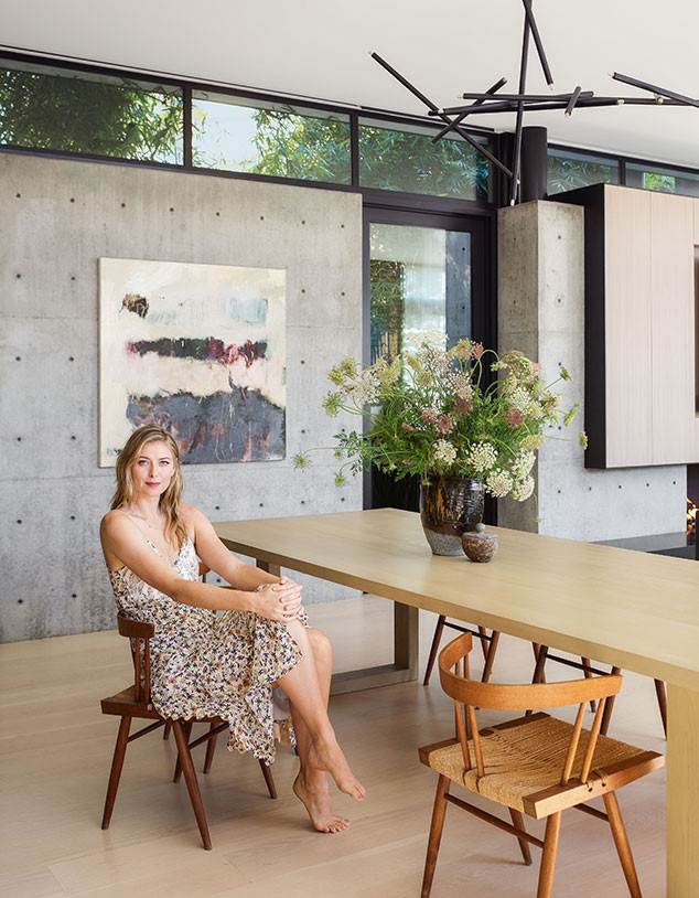 Maria Sharapova, Architectural Digest, House
