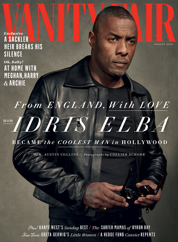Idris Elba, Vanity Fair, August 2019