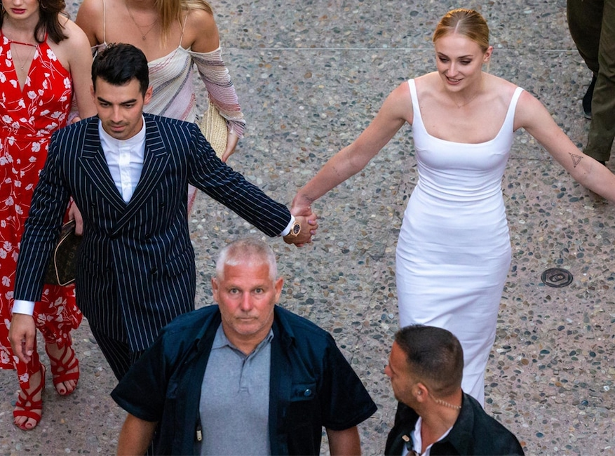 Joe Jonas, Sophie Turner, Pre-Wedding Party